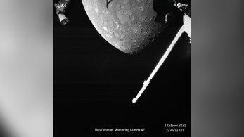 Sonda espacial BepiColombo passa a cerca de 200 quilômetros da superfície do planeta, o mais perto que chegará em sua missão antes de entrar na órbita do asto