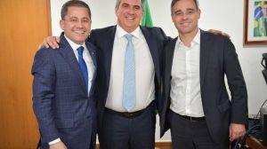 Ao lado de Ciro Nogueira, Bolsonaro recebe Mendonça e reafirma indicação ao STF