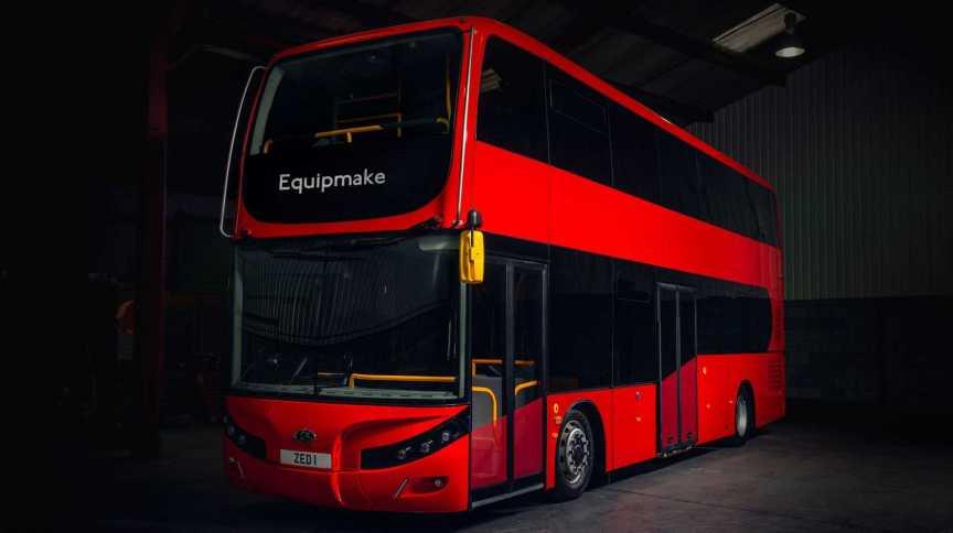 Equipmake tem interesse em produzir os famosos ônibus de Londres na versão elétrica