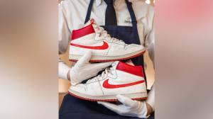 Nike usado por Jordan em temporada de estreia é leiloado por US$ 1,47 milhão