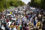 Milhares de manifestantes pedem golpe militar no Sudão