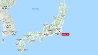 Epicentro do tremor fica a cerca de 40 km de Tóquio; nenhum alerta de Tsunami foi emitido