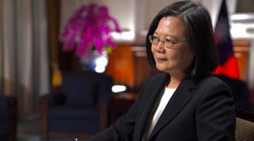 Tsai Ing-wen, presidente de Taiwan, disse à CNN que ameaça da China está aumentando 'a cada dia'