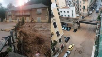Mais de meio metro de chuva caiu na Itália em apenas 12 horas e tempestades chegaram ao desértico Omã, na Península Arábica