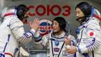 Na Rússia, bilionário japonês treina para viagem espacial