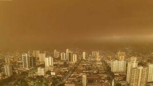 Tempestades de poeira podem se tornar comuns com o tempo, diz meteorologista