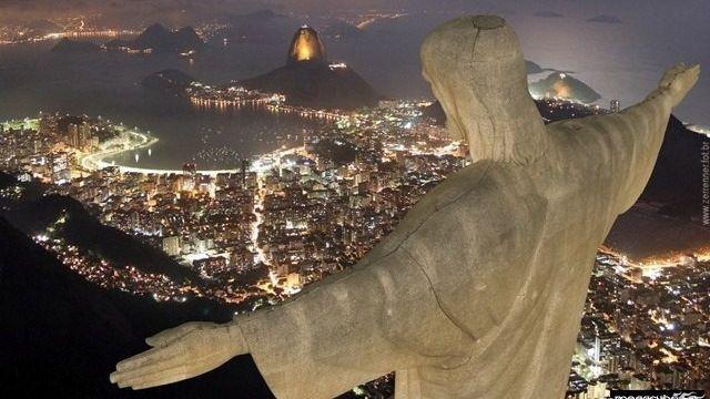 O Cristo Redentor completa 90 anos neste dia 12 de outubro