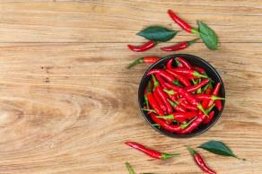 Substância capsaicina, que induz uma sensação de ardor e está presente nas pimentas, ajudou a identificar sensor reativo na pele