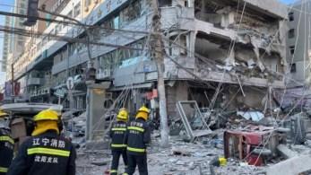 A explosão no nordeste da cidade de Shenyang estilhaçou janelas de edifícios próximos e interrompeu o tráfego