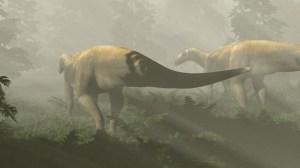 """Fóssil de pegada faz dinossauro ir de predador carnívoro a """"amigável"""" herbívoro"""