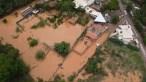 Enchente atinge pelo menos 100 casas em Ouro Preto