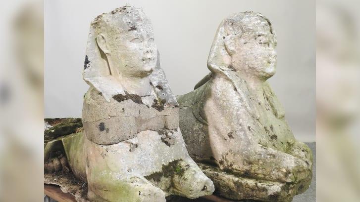 Estátuas Egito