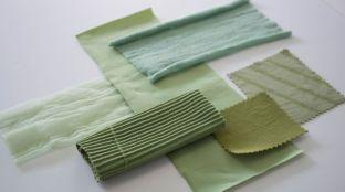 As fibras biodegradáveis à base de algas da lgaeing reduzem o consumo de água em até 80% em comparação com os tecidos tradicionais