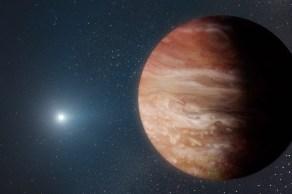 Dupla incomum foi descoberta a 6.500 anos-luz de distância, perto do centro de nossa galáxia, a Via Láctea