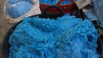 Investigação da CNN internacional revelou que dezenas de milhões de luvas falsificadas e usadas chegaram aos Estados Unidos; uma indústria repleta de fraudes, segundo especialistas