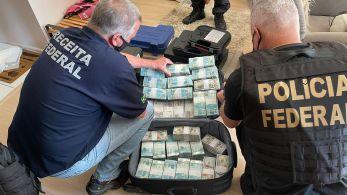 Ao todo, são cumpridos 40 mandados de prisão e 56 de busca e apreensão no RS, no PR e em SP; organização teria faturamento mensal estimado em R$ 50 milhões