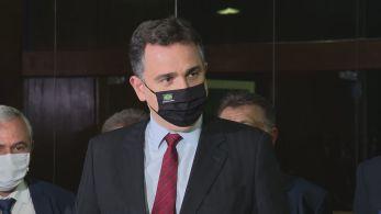 Presidente do Senado também voltou a cobrar papel social da Petrobras na questão dos preços dos combustíveis