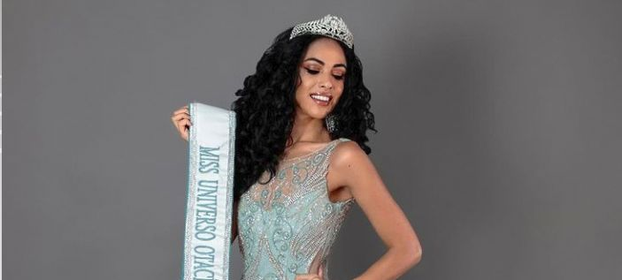 Bruna Valim representou a cidade de Otacílio Costa, em Santa Catarina