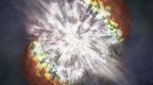 Morte de estrela vista pelo Hubble pode ajudar a desenvolver sistema de alerta