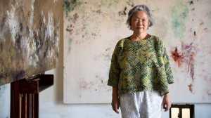 'Eu obedeço ao tempo': A artista que passou três décadas em uma única pintura
