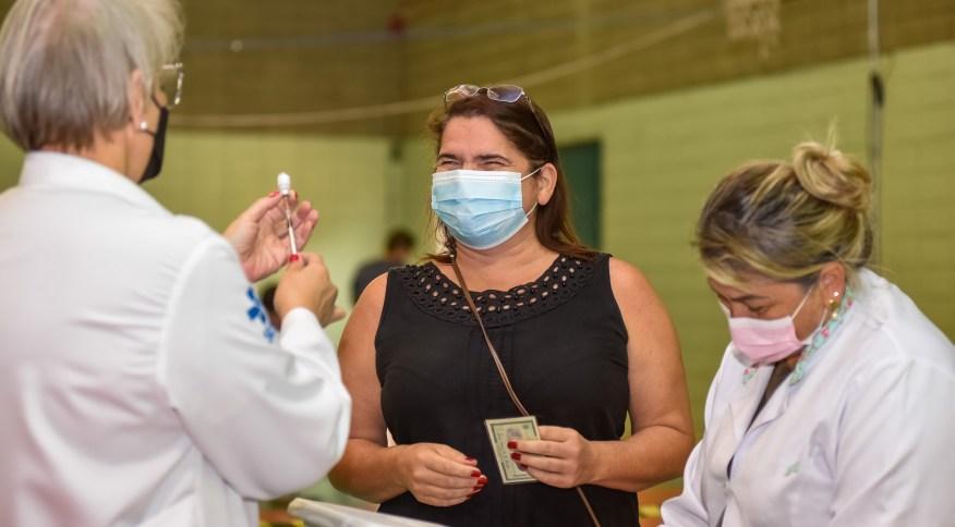 Vacinação contra a Covid-19 em Jundiaí (SP)
