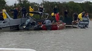 Equipes seguirão no local, diz bombeiro que busca última vítima de naufrágio no MS