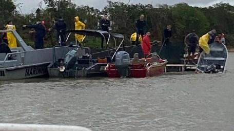 Marinha e Bombeiros encerraram as buscas neste domingo (17)
