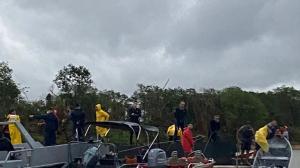 Bombeiros encontram corpo de uma vítima de naufrágio no Rio Paraguai no MS