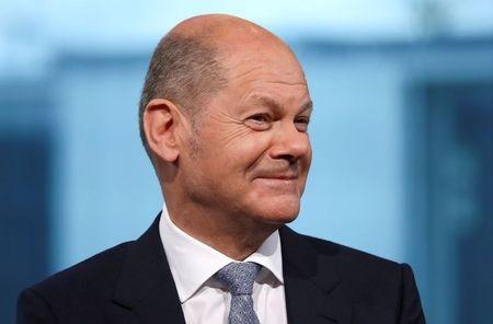 Olaf Scholz, líder do partido social-democrata