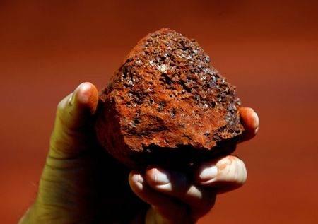 Minério de ferro na região de Pilbara, Austrália