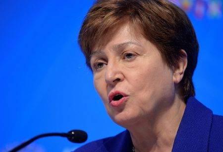 Diretora-gerente do FMI, Kristalina Georgieva