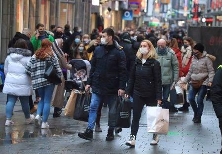 Rua de compras de Colônia, Alemanha