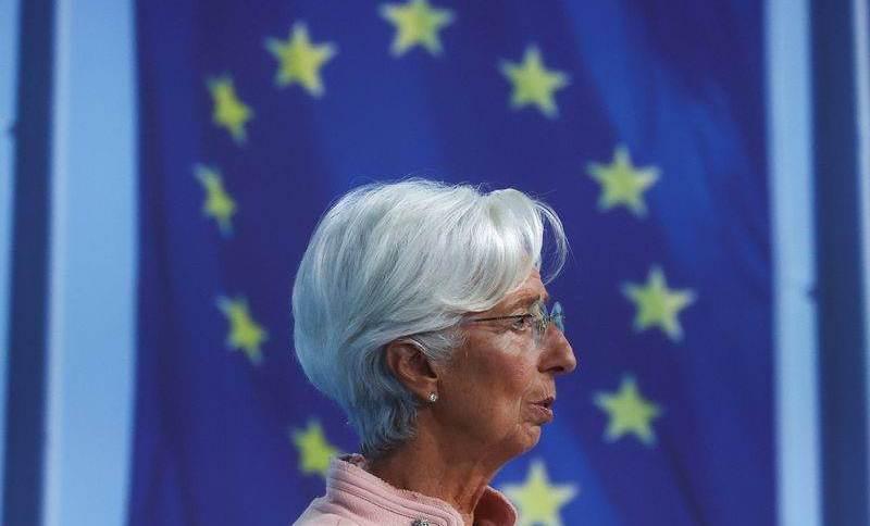 Lagarde em Frankfurt