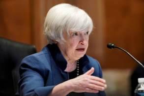 """""""Sairíamos da crise como um país permanentemente mais fraco"""", afirmou a secretária do Tesouro dos EUA"""