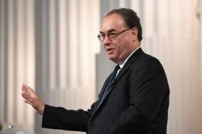 """""""É claro que essa ação vem em nossas reuniões de política monetária"""", diz Andrew Bailey"""