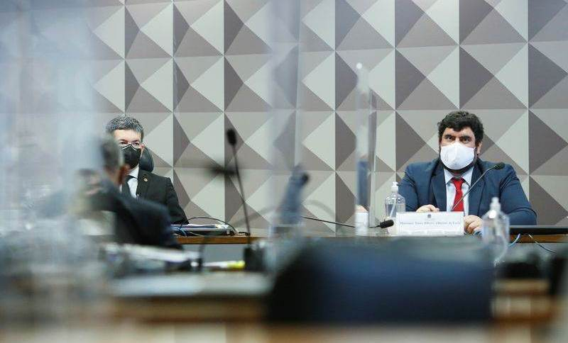 Reunião da CPI da Covid em Brasília