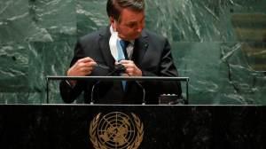 Diplomatas dizem que Planalto incluiu temas de política interna em discurso de Bolsonaro
