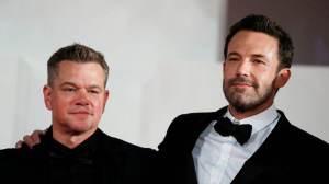 """""""Melhoramos muito no processo de escrever"""", diz Matt Damon sobre dupla com Affleck"""