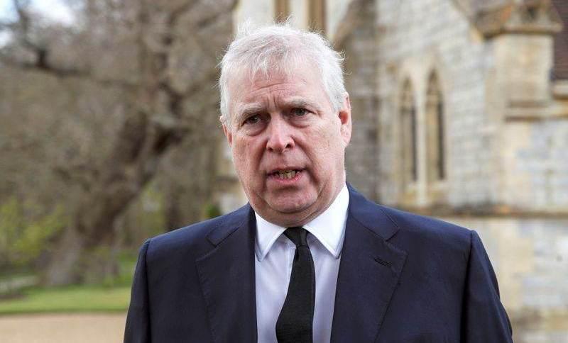 Príncipe Andrew em Windsor