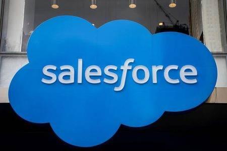 Logotipo da Salesforce.
