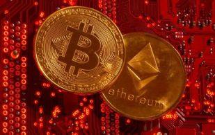 Valor do mercado de criptomoedas caía 10%, para menos de US$ 1,94 trilhão, ante US$ 2,17 trilhões do último sábado