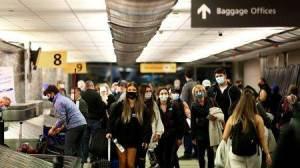 EUA vão permitir entrada de viajantes totalmente vacinados