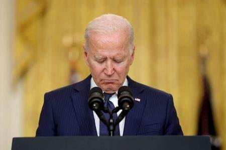 Presidente dos EUA, Joe Biden, durante pronunciamento na Casa Branca