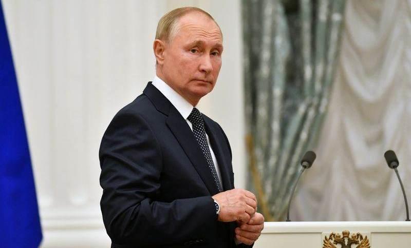 Presidente da Rússia, Vladimir Putin, em Moscou