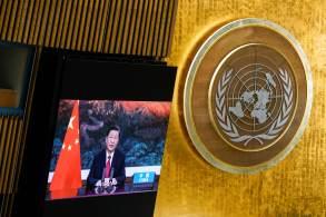 Presidente chinês prometeu ainda fornecer 2 bilhões de doses de vacinas contra a Covid-19 e doar US$ 100 milhões para países emergentes