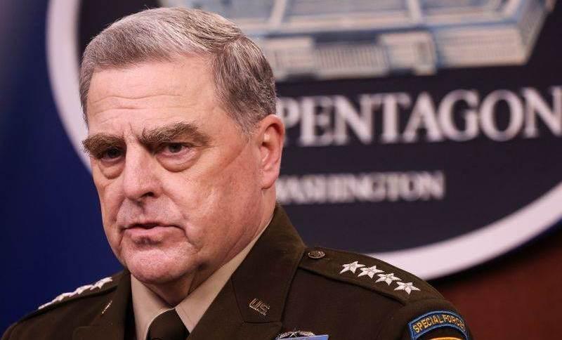 General norte-americano Mark Milley, chefe do Estado-Maior Conjunto dos EUA