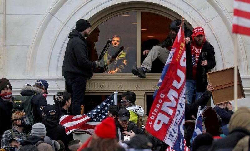 Ataque de apoiadores de Trump ao Capitólio em janeiro deste ano
