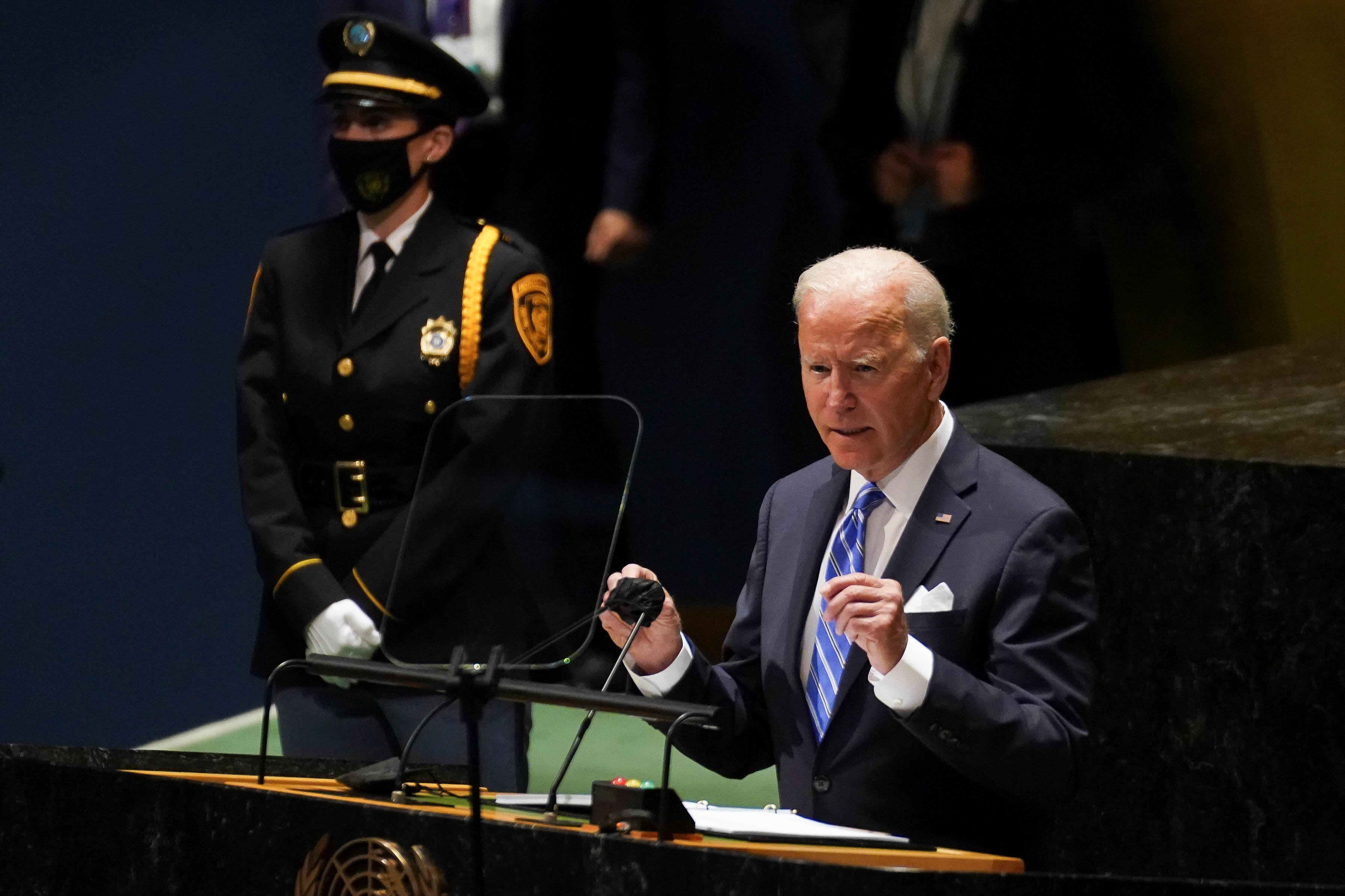 Discurso de Joe Biden, presidente dos EUA, na Assembleia-Geral da ONU