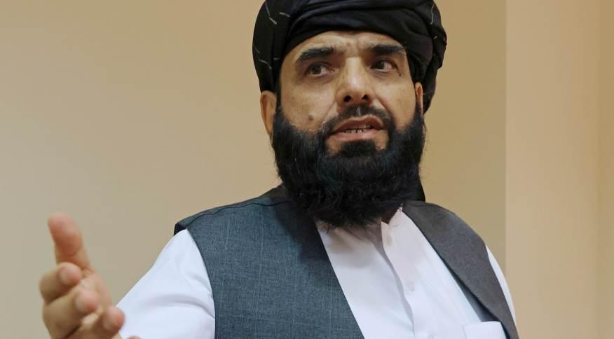 Porta-voz do Taliban,Suhail Shaheen, em Moscou