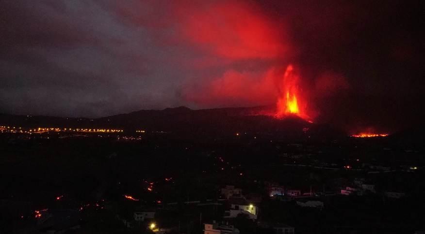 Erupção do vulcão Cumbre Vieja
